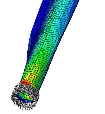 تحلیل آسیب خستگی پره توربین باد کامپوزیتی