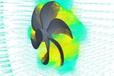 طراحی و تحلیل پروانه های مغروق