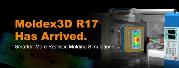 قابلیت های جدید نرم افزار مولدکس | Moldex3D R17